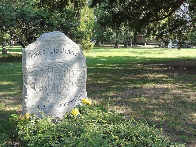 Могила Борхеса на Кладбище Королей, Женева