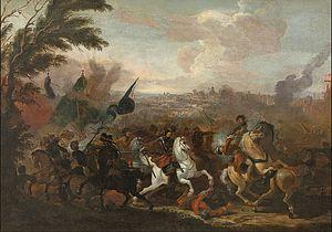 Joris van Bredael - Battle between Christian and Osman Soldiers
