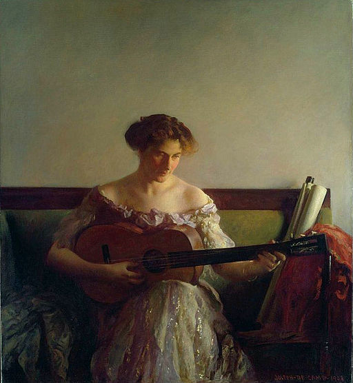 Joseph DeCamp The Guitar Player 1908