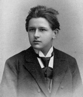 Joseph Marx - Marx at 21 years old (1903)