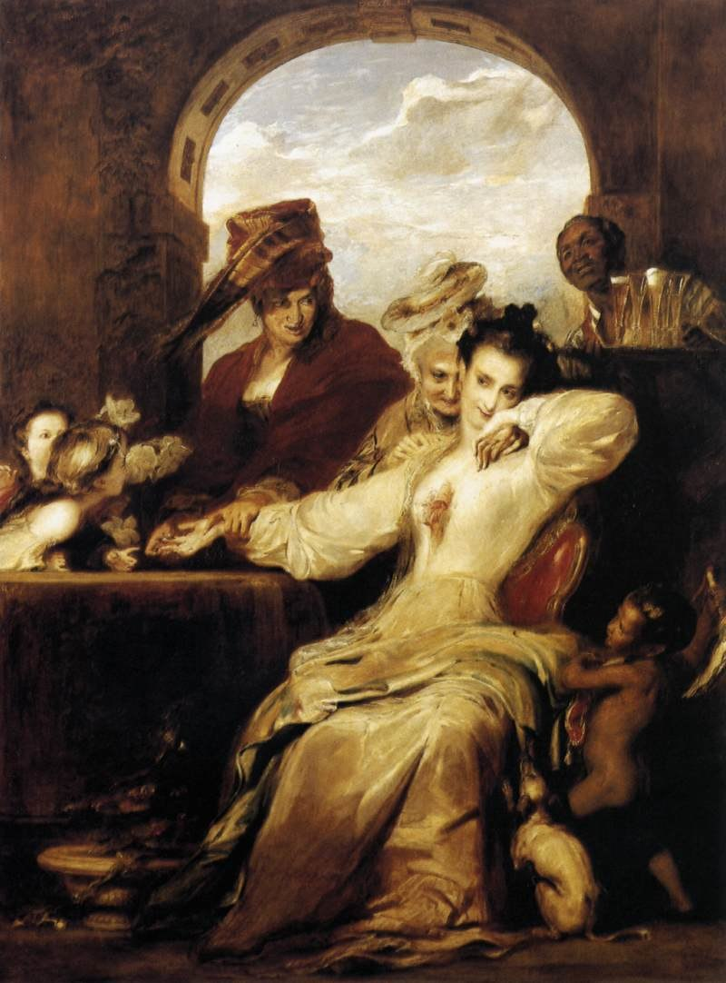 Josephine and the Fortune-Teller 1837 David Wilkie
