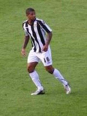 Joss Labadie - Labadie playing for Notts County in 2013.