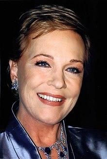 Julie Andrews British actress, singer, author, theatre director and dancer