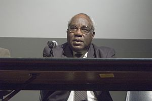 Julius L. Chambers - Julius Chambers at the University of North Carolina at Chapel Hill, February 13, 2007