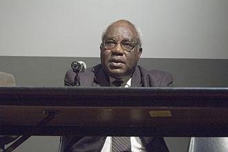 Julius L. Chambers - Julius Chambers at the University of North Carolina at Chapel Hill, February 13, 2007