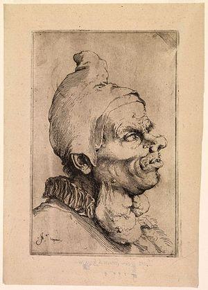 Jusepe de Ribera - Portrait by Jusepe de Ribera.