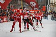 Justyna Kowalczyk at Tour de Ski