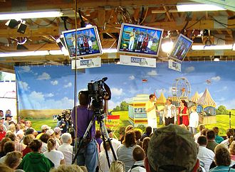KARE (TV) - KARE at the Minnesota State Fair, 2006.