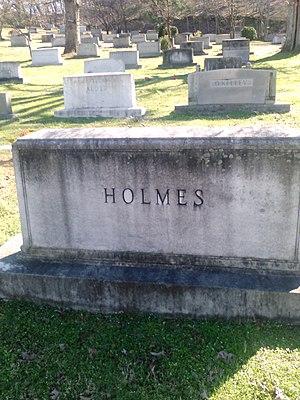 Ernest Holmes Sr. - Holmes Family Headstone