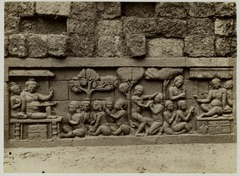 KITLV 28078 - Kassian Céphas - Relief of the hidden base of Borobudur - 1890-1891.tif