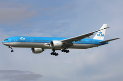 Un Boeing 777 de la KLM Royal Dutch Airlines.