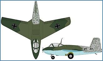 Messerschmitt Me 263 - Messerschmitt Me 263