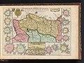 Kaart van Portugal Kaart van Portugaal en Algarve Le Royaume de Portugal et Algarve (titel op object), BI-B-FM-090-76.jpg