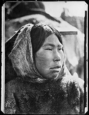 Netsilik Inuit - Kabloka, a Netsilik girl in 1903-05