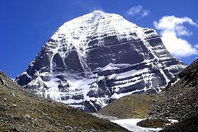 Foto van de Kailash berg