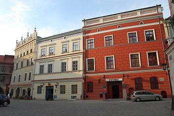 Polski: Kamienice na staromiejskim rynku