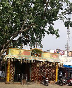 Temple inside Kanakapura Bus Station