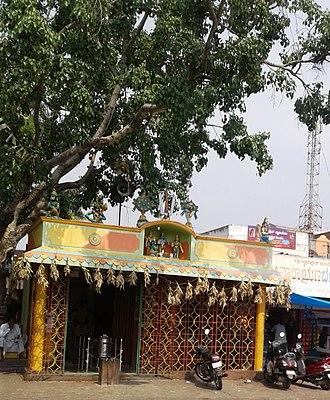 Kanakapura - Temple inside Kanakapura Bus Station