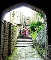 Kangra Fort View through Ahini Gate to Amri Gate.jpg