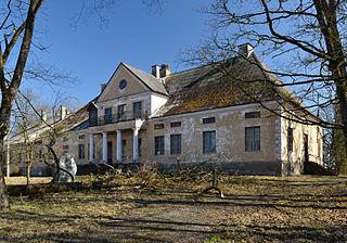 Karinu Village in Järva County, Estonia