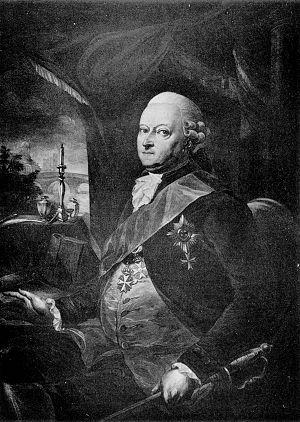 Treaty of Amity and Commerce (Prussia–United States) - Reichsgraf und Graf Karl Wilhelm Finck von Finckenstein