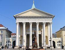 Karlsruhe Protestant Church, 1807–16 (Source: Wikimedia)