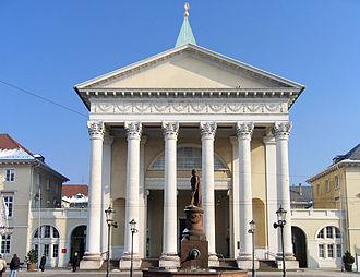1816 in architecture - Image: Karlsruhe Evangelische Stadtkirche meph 666 2004 Feb 25 b