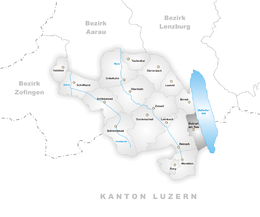 Beinwil am See – Mappa