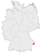 Location, Passau in Germany