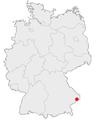 Karte passau in deutschland.png