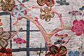 Katabira (Plum tree, grid, chrysanthemums and lespedeza pattern).Detail. Matsuzakaya Collection.jpg