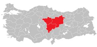 Kayseri Subregion Subregion in Central Anatolia, Turkey