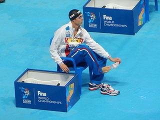 Anton Chupkov Russian swimmer