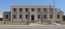 Kearny County, Kansas courthouse from SE 1.JPG