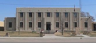 Kearny County, Kansas - Image: Kearny County, Kansas courthouse from SE 1