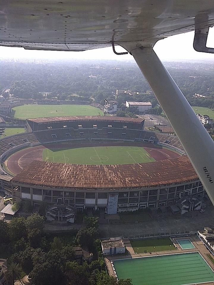 Keenan Stadium aerial view
