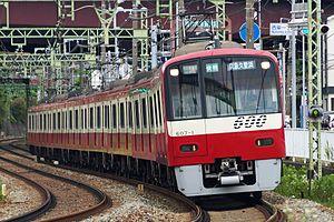 Keikyu - Image: Keikyu 600 series 607 formation