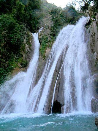 Mussoorie - Kempty Water Fall, Mussoorie (in winter)