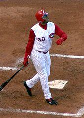 Ken Griffey Jr Reds Fielding