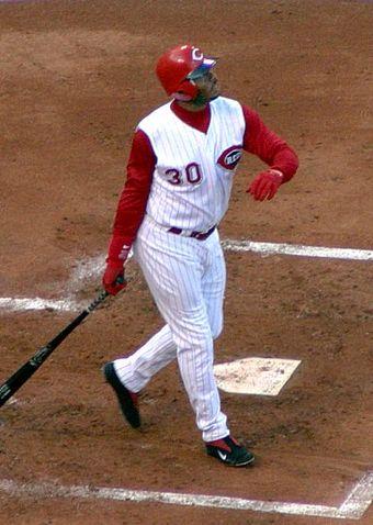 4bd9f64e70 Griffey, batting for the Cincinnati Reds.