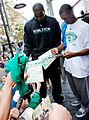 Kendrick Perkins Rajon Rondo sign autographs at the Marketplace.jpg