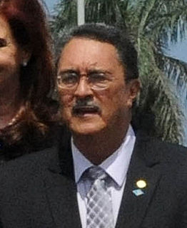 Kenny Anthony Prime Minister of Saint Lucia