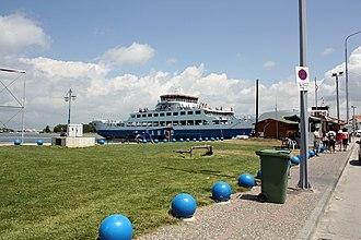 Keramoti - Image: Keramoti ferry pier