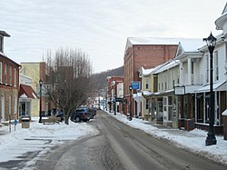 Downtown Keyser in January 2014