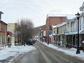 Keyser, West Virginia - Downtown Keyser in January 2014