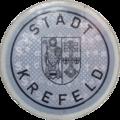 Kfz-Zulassungsplakette Stadt Krefeld.SecuRasta.png