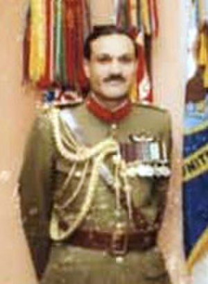 Khalid Mahmud Arif - General K.M. Arif in the United States, ca.1982