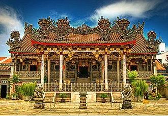 Kongsi - Khoo Kongsi Clan House, Georgetown, Penang