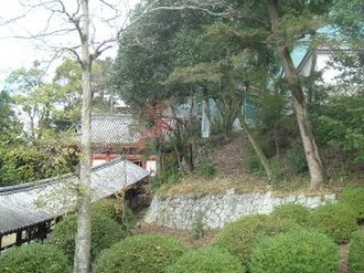 Kingdom of Kibi - Image: Kibutsu Shrine, Okayama, surounding forest