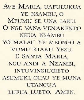 Kikongo-m